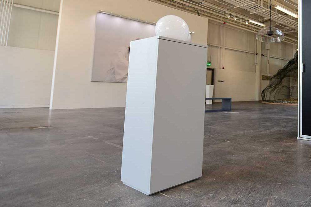 Sound plinth: I am here