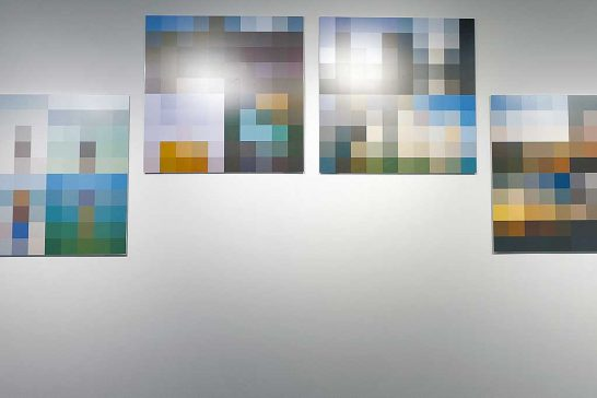The Colour of Happiness : installation shot