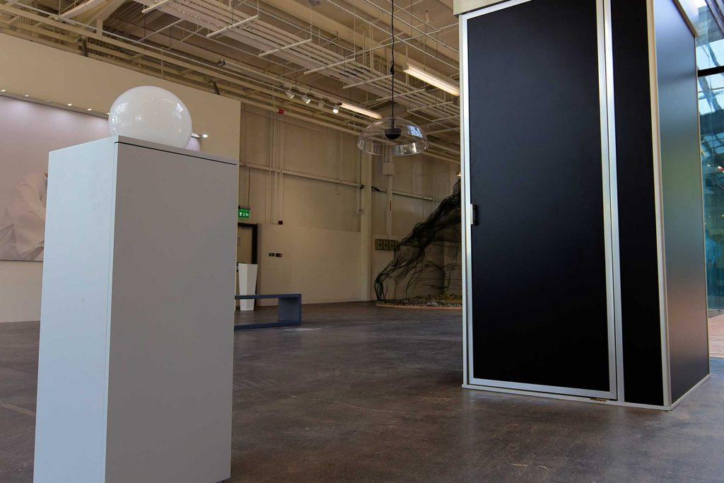 Sound works installation